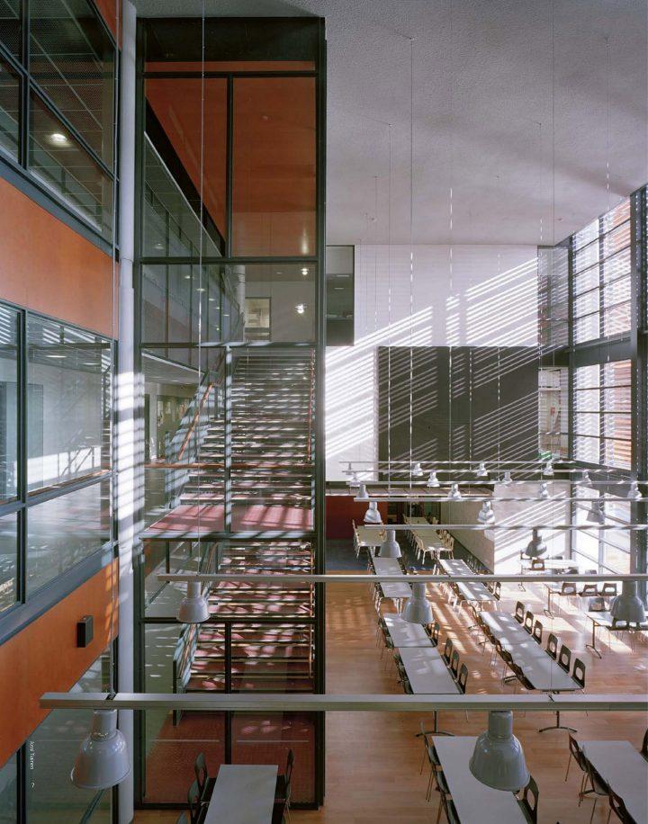 School canteen, Helsinki University Teacher Training School