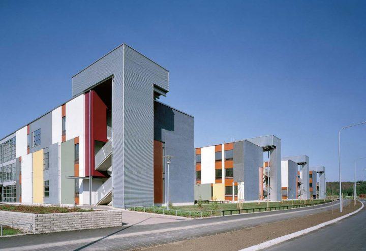 Street elevation, Helsinki University Teacher Training School