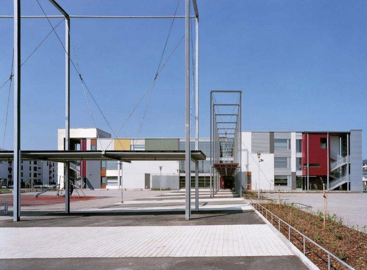 Schoolyard, Helsinki University Teacher Training School