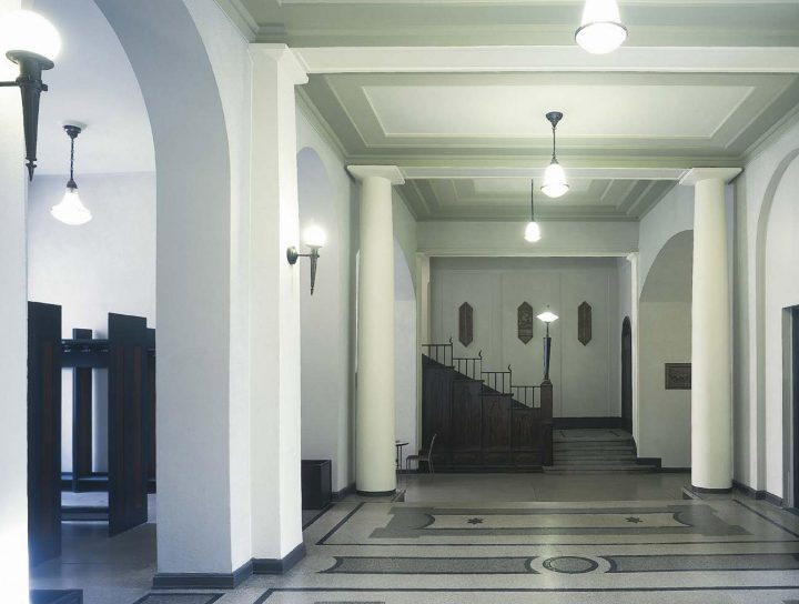 Entrance hall, House of Learned Societies