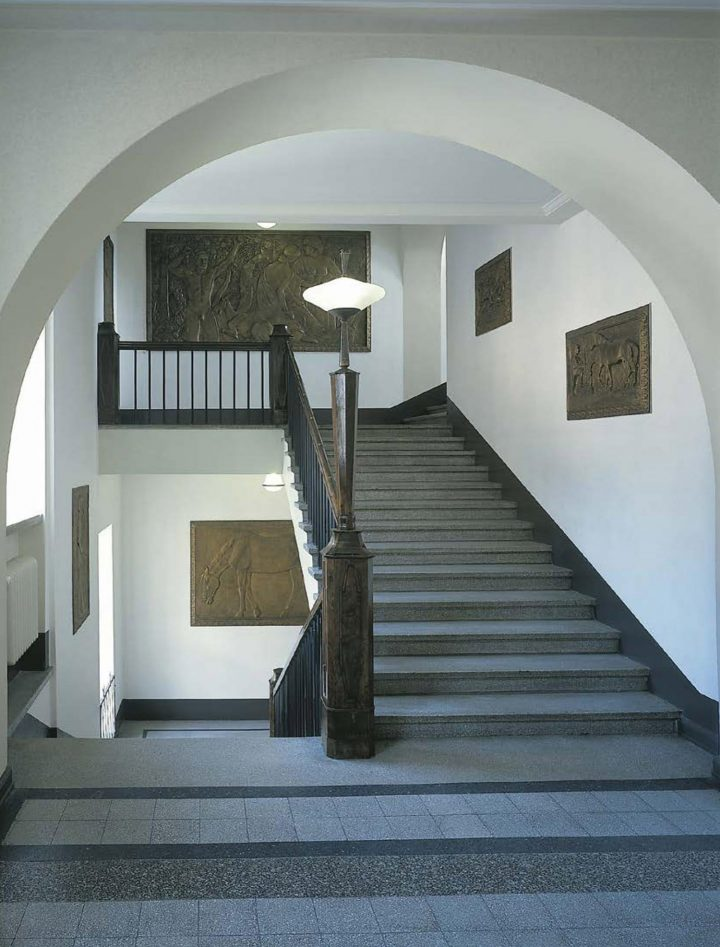 Main staircase, House of Learned Societies
