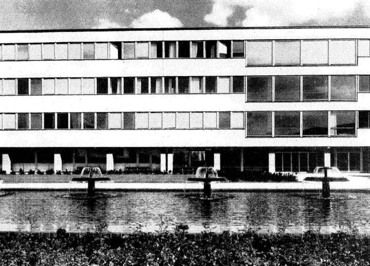 Natural sciences building, south elevation, University of Turku Main Campus