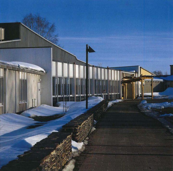 Main entrance, Juvakoti Service Centre