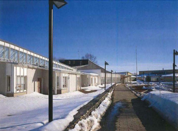 View towards the entrance, Juvakoti Service Centre