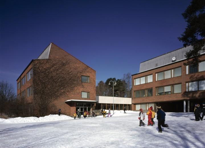 The teacher training school, University of Jyväskylä, the Aalto's Campus