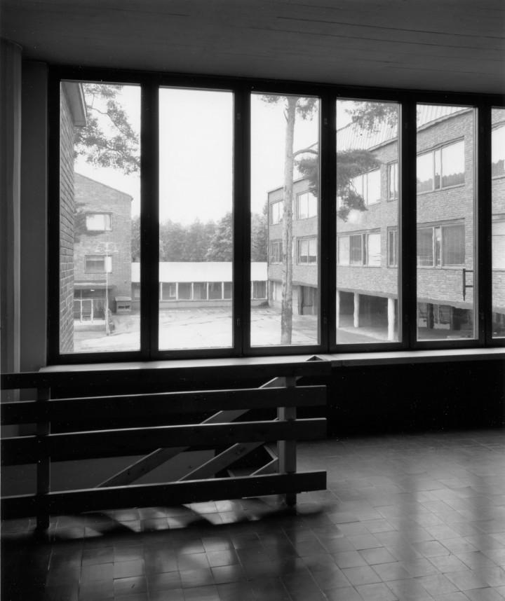 The teacher trainining school, University of Jyväskylä, the Aalto's Campus