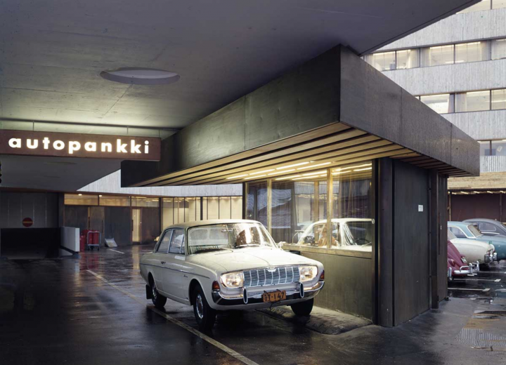 Parking garage, The KOP-kolmio Commercial Building