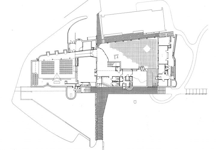 Ground floor, Kauniainen Church