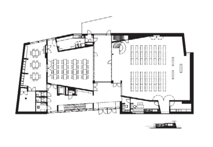 1st floor, Kuokkala Church