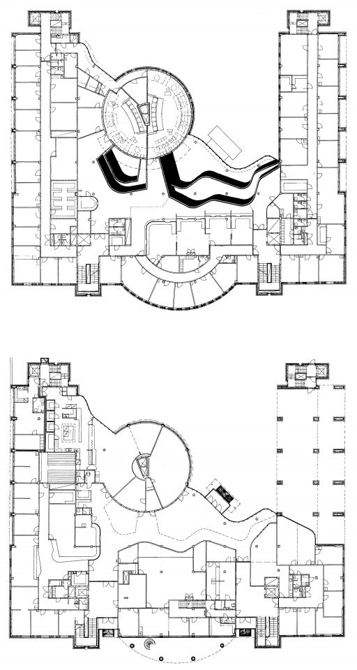 Second floor and ground floor, Kuopio Court and Police House