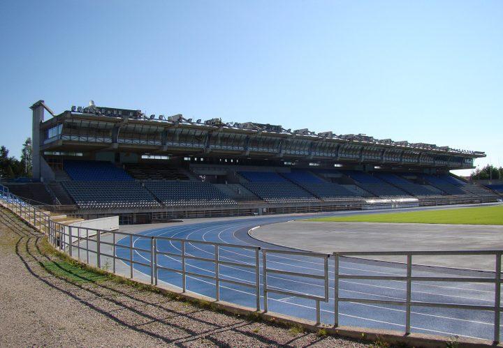 Stadium seen from the west, Lahti Stadium