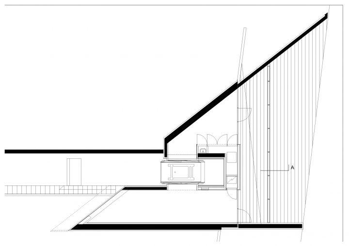 Lower station floor plan, Kakola Funicular Stations