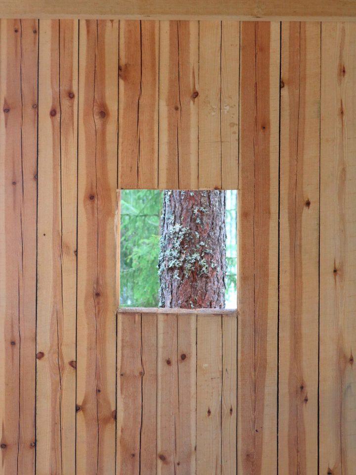 Kirkkokivi Wooden Shelter