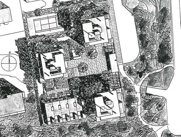 Site plan, Meritähti Housing
