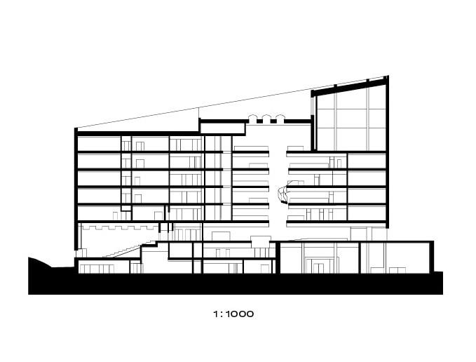 Section plan, Metropolia Myllypuro Campus