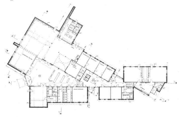 Floor plan, Mikaelintalo Parish Centre