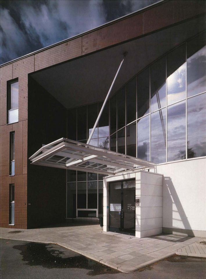 Main entrance, Munkkiniemi Service Centre