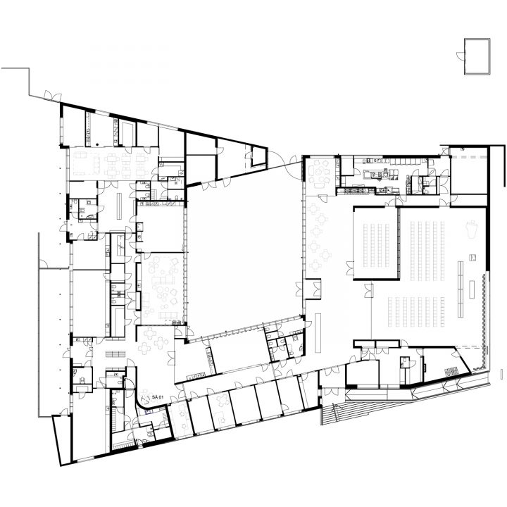 Ground floor, Suvela Chapel