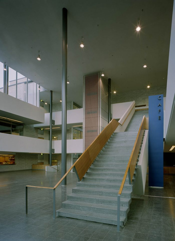 Main staircase, Helsinki University Physicum Building