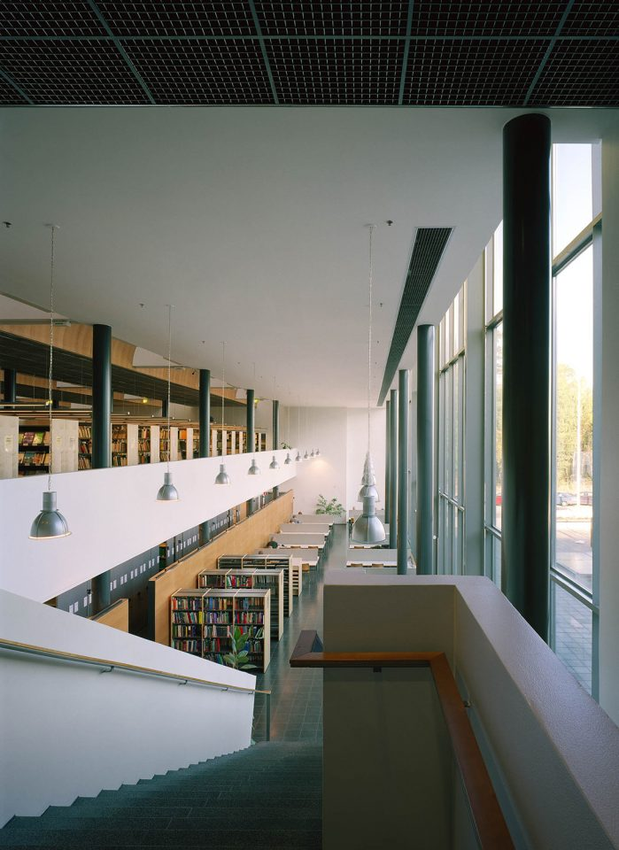 Library, Helsinki University Physicum Building