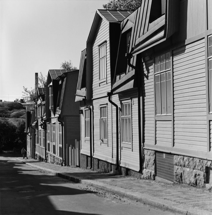 Wooden houses in the 1980s, Puu-Vallila Wooden House District