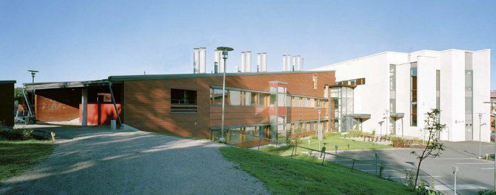 View from the schoolyard, Ruusutorppa School