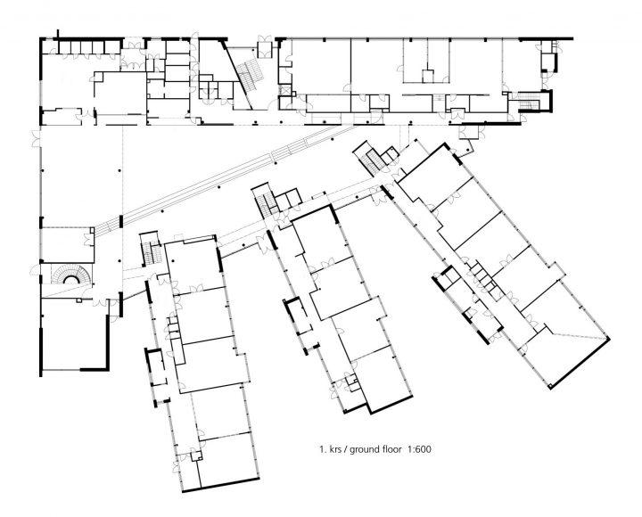 Ground floor, Ruusutorppa School