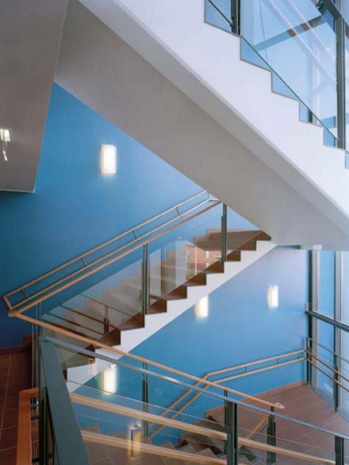 Stairway, Ruusutorppa School