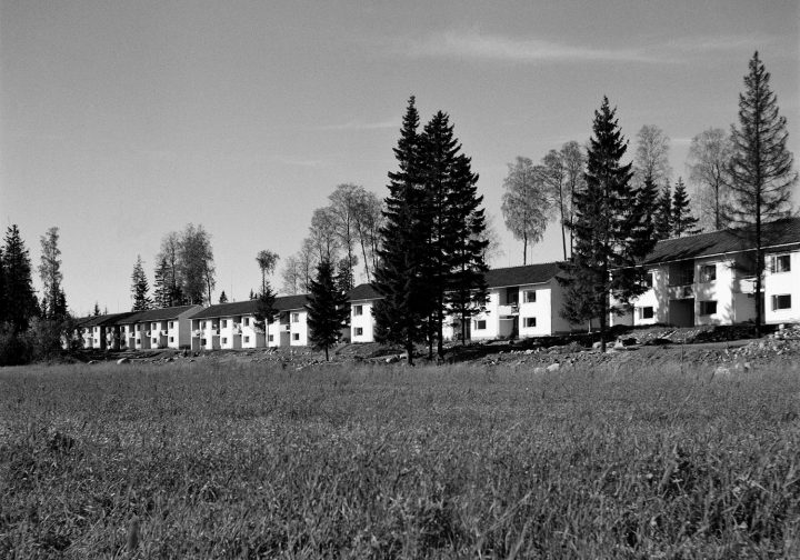 Pirttipolku row houses photographed in , Sahanmäki Residential Area