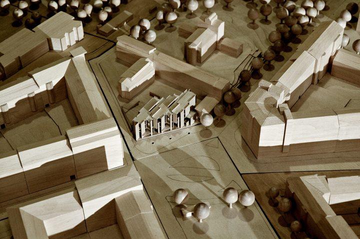 Scale model, Sandels Cultural Centre