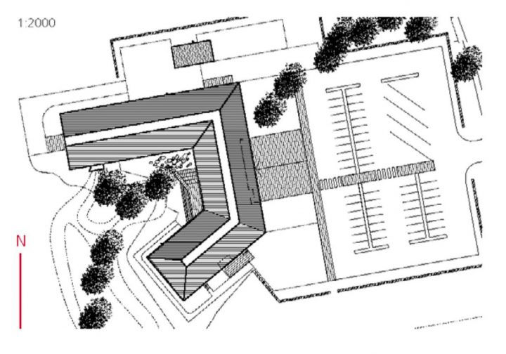 Site plan, Sarka Finnish Museum of Agriculture
