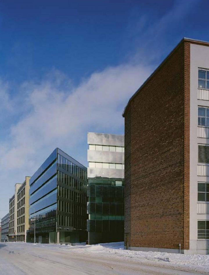 Elimäenkatu street view, Sonera Office Building