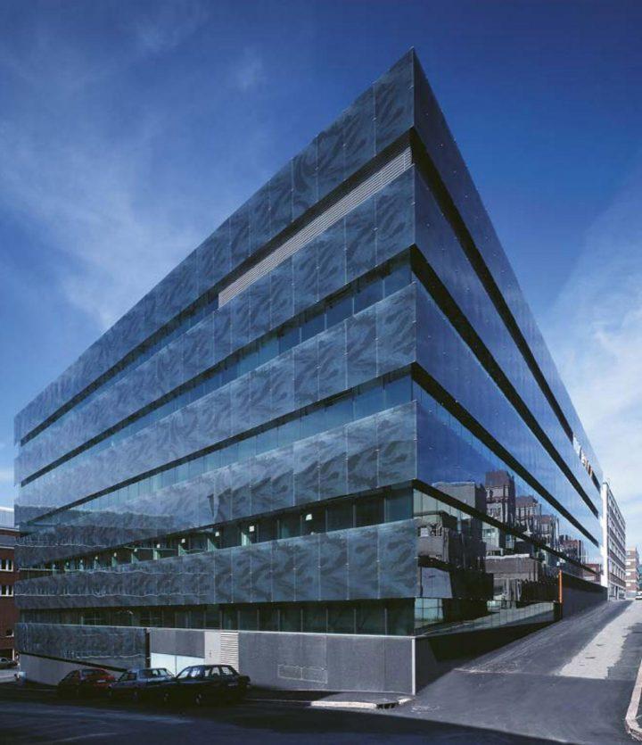 Pälkäneentie street view, Sonera Office Building