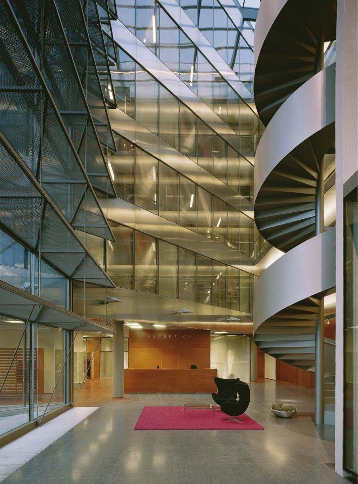 Main foyer, Sonera Office Building
