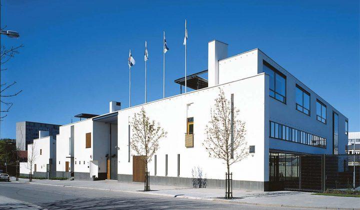 Street elevation, Stockholm Embassy of Finland