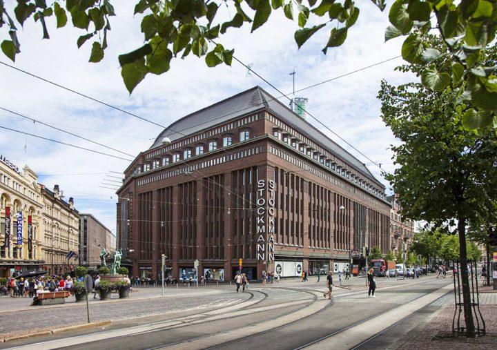 View from Mannerheimintie street , Stockmann Department Store