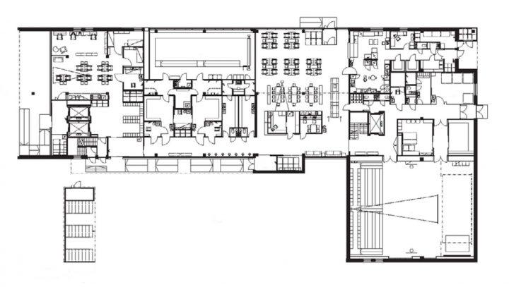 Ground floor, Tervaväylä School, Lohipato Unit