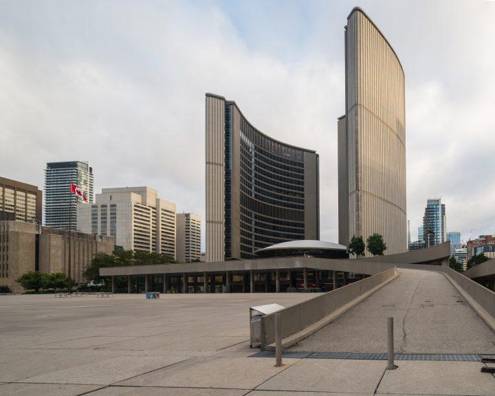 Southern façade, Toronto City Hall
