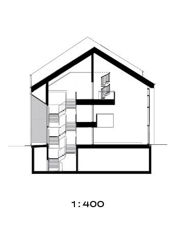 Section plan, Trekoli Senior Housing