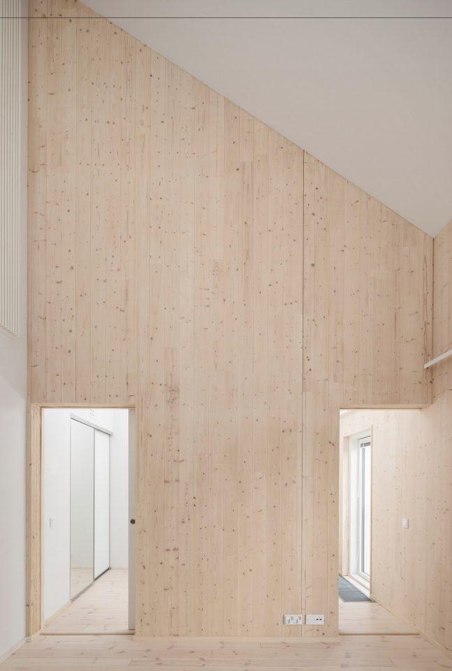 Detail of the interior, Trekoli Senior Housing