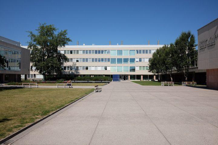 Main square, University of Turku Main Campus