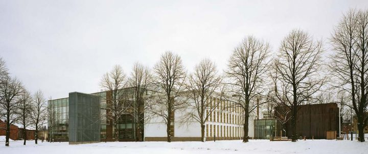 North elevations, Vaasa City Library