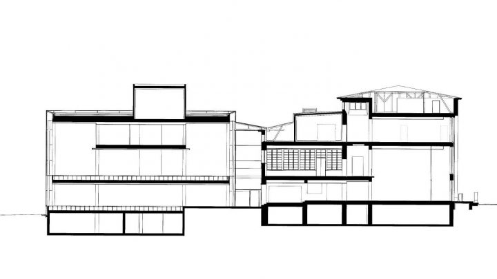 Section plan, Vaasa City Library