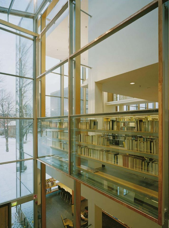 Extension , Vaasa City Library