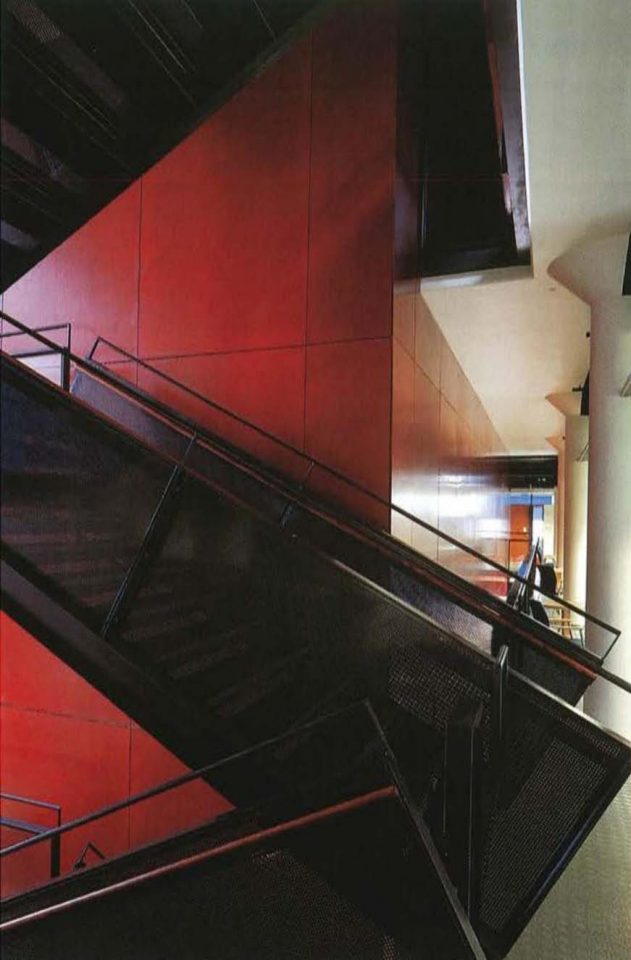 Main staircase, Viikki Campus Library