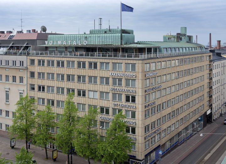 Street elevation, Voimatalo Office Building