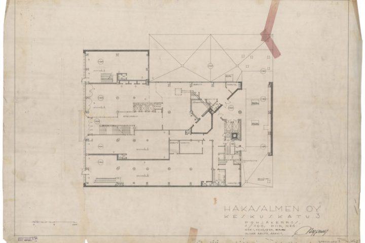 Ground floor plan, Iron House
