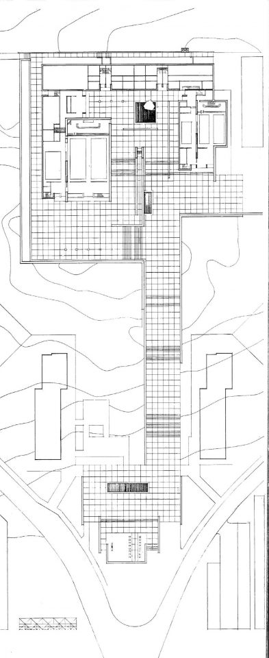Floor plan, Lauttasaari Church
