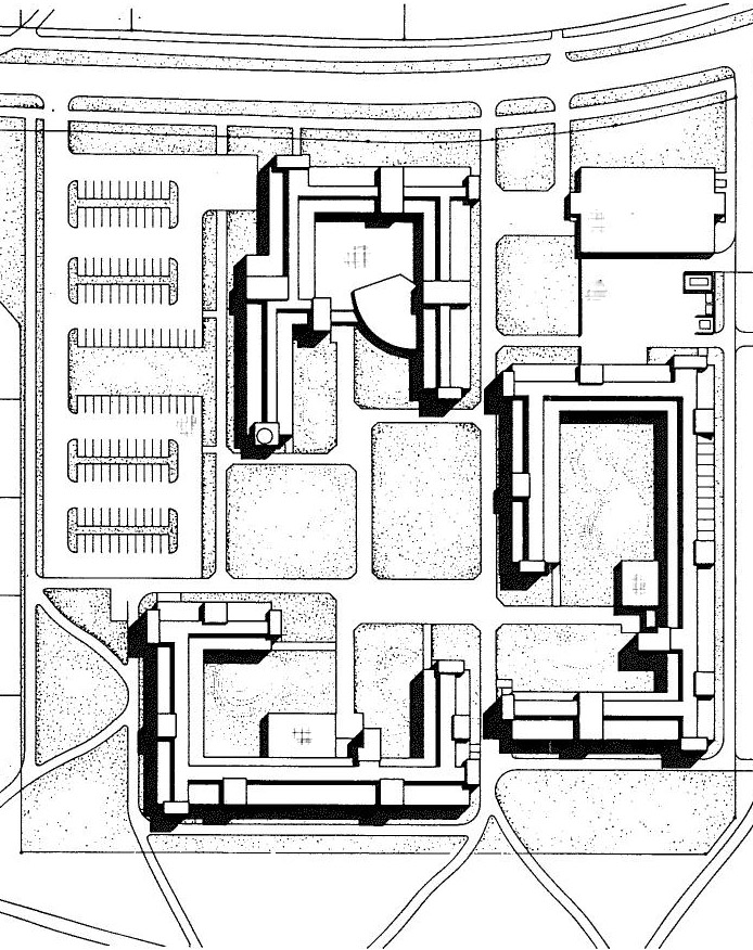 Site plan, University of Joensuu