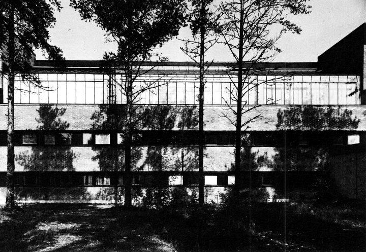 Department of biology, southern elevation, University of Joensuu